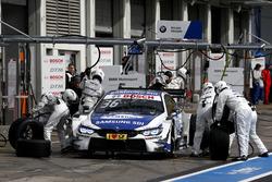 Maxime Martin, BMW Team RBM, BMW M4 DTM, Boxenstopp