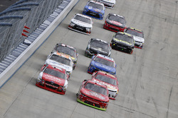 Ryan Reed, Roush Fenway Racing Ford, Ross Chastain, JD Motorsports Chevrolet