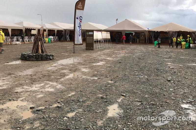 Vivac del Rally Dakar 2017