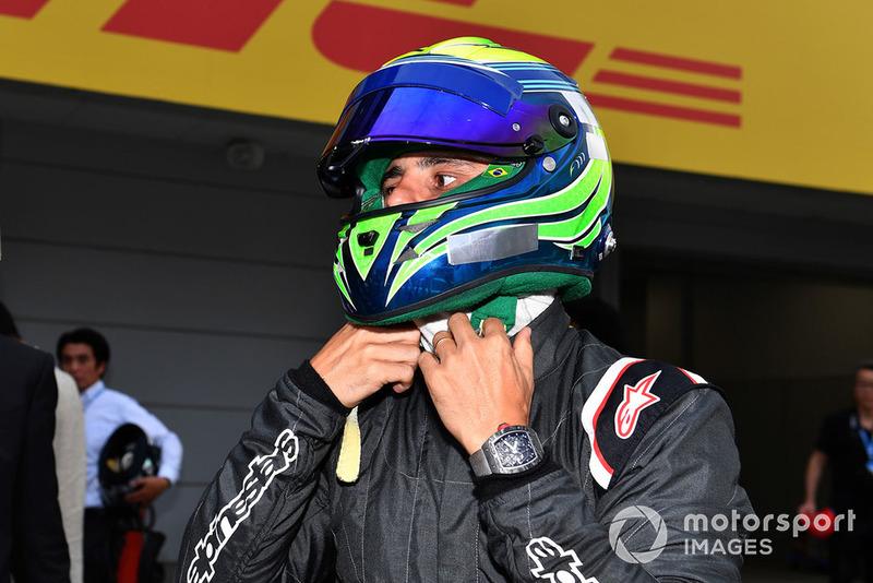 Felipe Massa at Legends F1 30th Anniversary Lap Demonstration