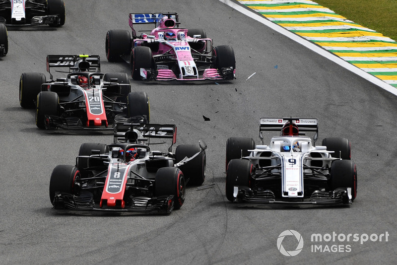 Brasil - Marcus Ericsson/Romain Grosjean (carrera)
