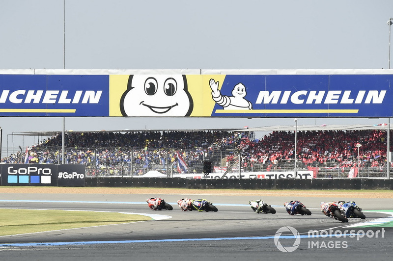 Race action, Marc Marquez, Repsol Honda Team