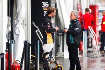 Jean-Eric Vergne, DS TECHEETAH, avec Gerd Mauser, Jaguar Racing