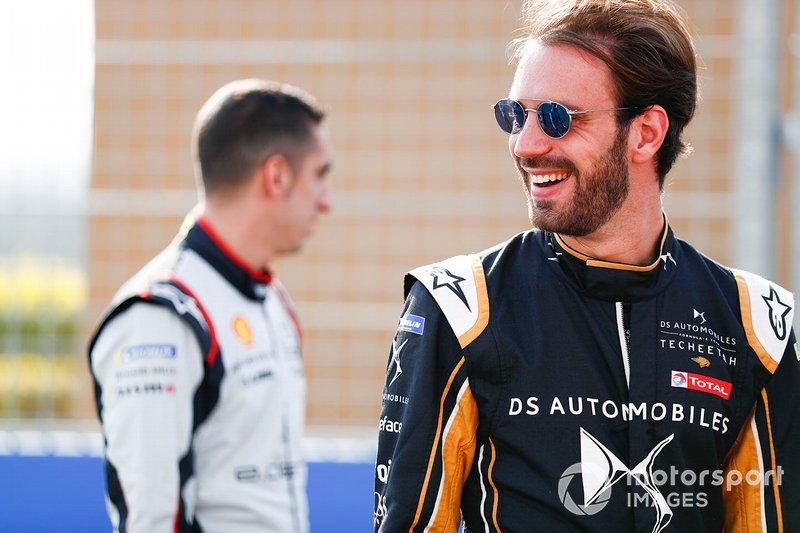 Sébastien Buemi, Nissan e.Dams, andJean-Eric Vergne, DS TECHEETAH