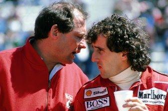 Ron Dennis, Mclaren Chief Executive, Alain Prost, McLaren