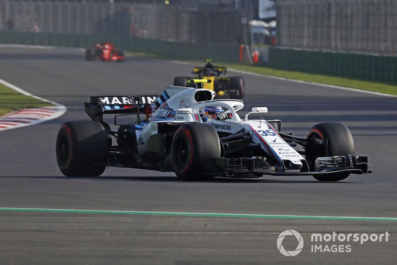 20. Sergei Sirotkin, Williams FW41