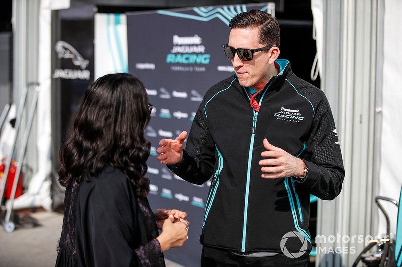 James Barclay, Team Director, Panasonic Jaguar Racing