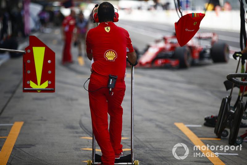 Механик Ferrari