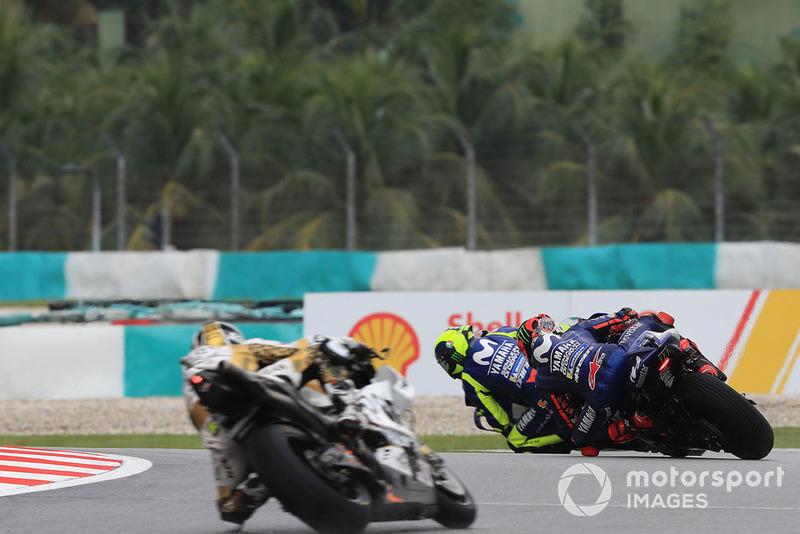 Valentino Rossi, Yamaha Factory Racing, Maverick Viñales, Yamaha Factory Racing,Alvaro Bautista, Angel Nieto Team