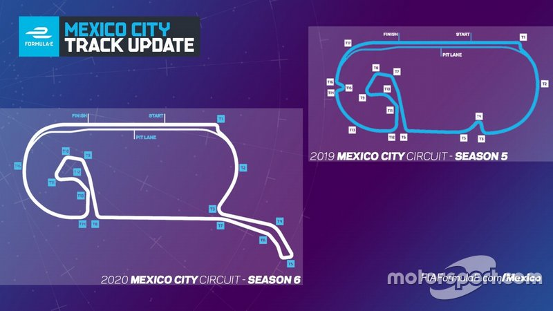 Novo traçado do ePrix do México
