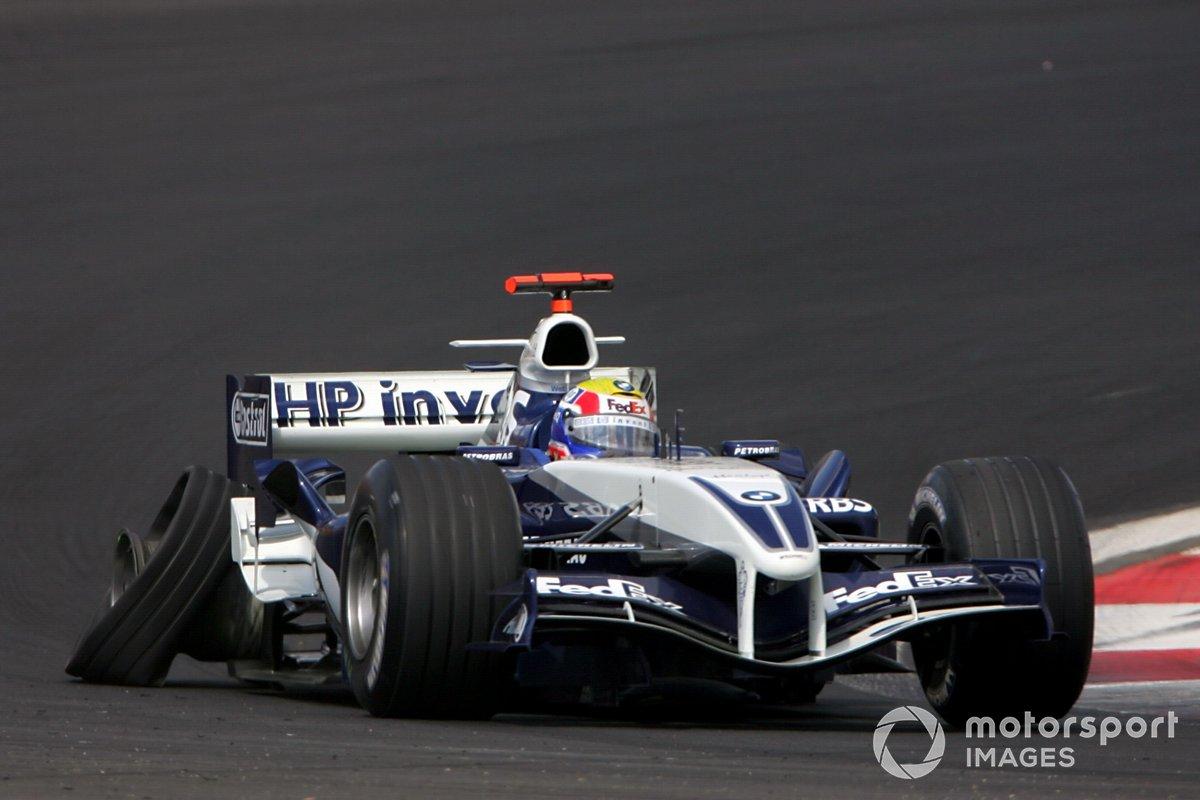 Марк Уэббер, Williams BMW FW27, 2005 год