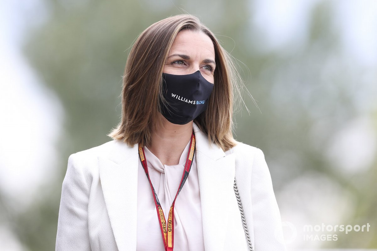Claire Williams, directrice adjointe, Williams Racing