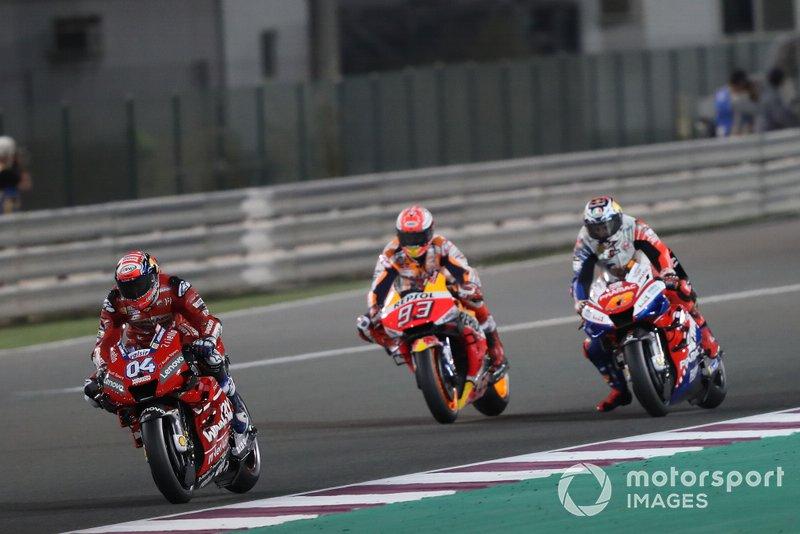 Andrea Dovizioso, Ducati Team, al comando