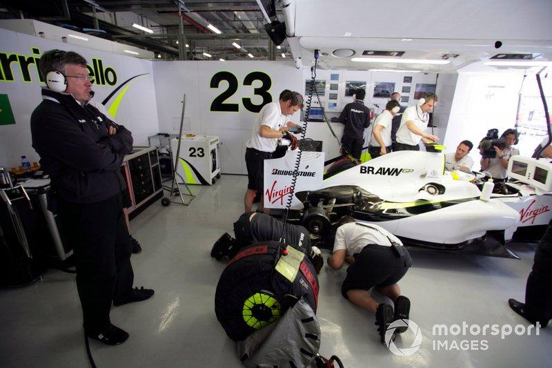 Ross Brawn, Team Principal, Brawn GP