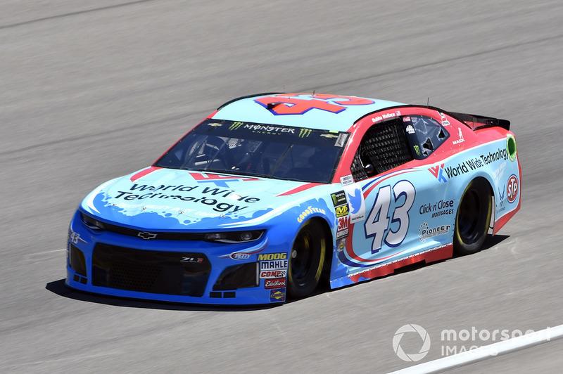 31. Darrell Wallace Jr., Richard Petty Motorsports, Chevrolet Camaro World Wide Technology