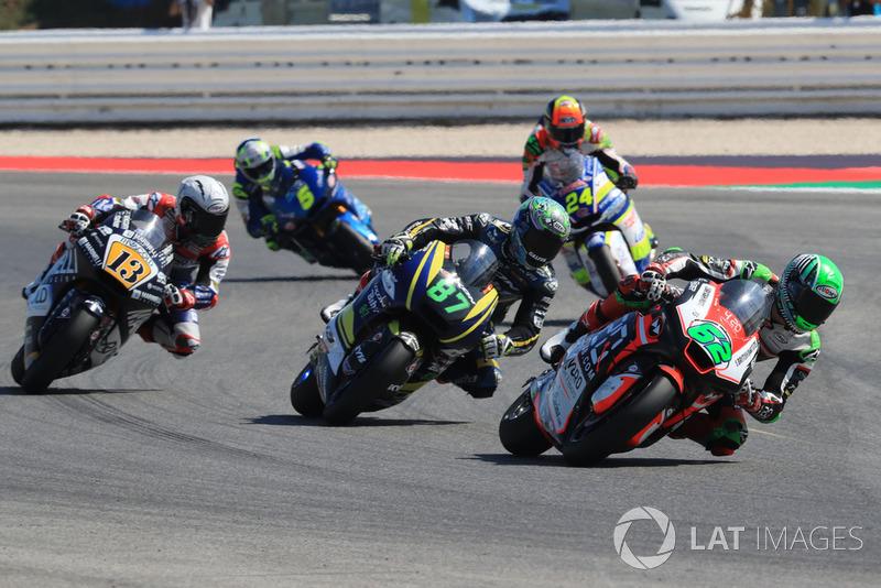 Stefano Manzi, Forward Racing Remy Gardner, Tech 3 Racing Romano Fenati, Marinelli Snipers