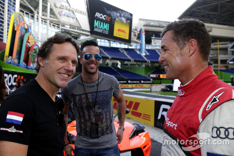 Mike Hezemanns, Anthony Kumpen y Tom Kristensen