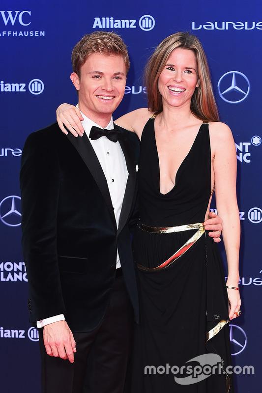 Nico Rosberg mit Ehefrau Vivian