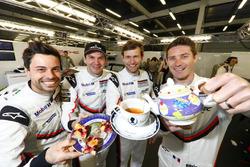 #91 Porsche Team Porsche 911 RSR: Richard Lietz, Frédéric Makowiecki and #92 Porsche Team Porsche 911 RSR: Michael Christensen, Kevin Estre