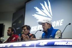 Persconferentie met Harry Tincknell, Ford Chip Ganassi Racing