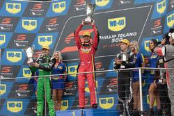 Podium: 1. Chaz Mostert, Rod Nash Racing, Ford; 2. Mark Winterbottom, Prodrive Racing Australia, Ford; 3. David Reynolds, Erebus Motorsport, Holden