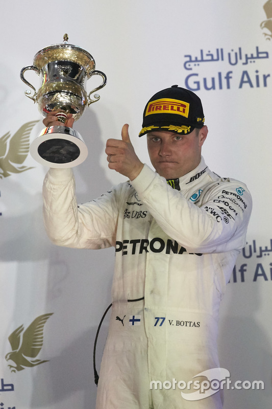Podium: third place Valtteri Bottas, Mercedes AMG F1
