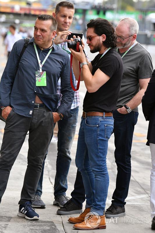 Liam Cunningham Actor And Kit Harington Actor Ted Dobrzynski