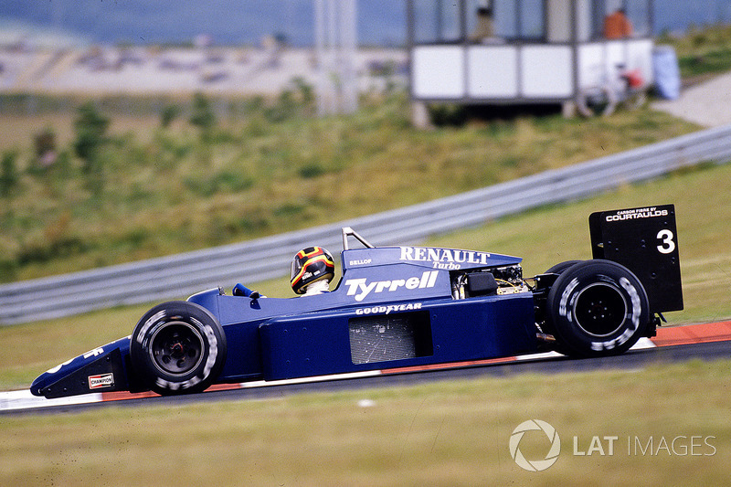 1985 – 1986: Tyrrell