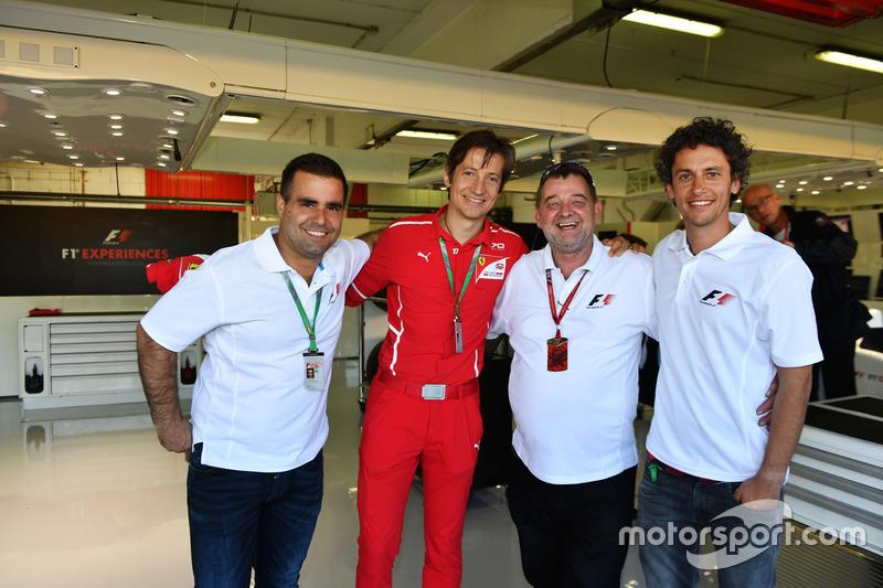 Massimo Rivola, Ferrari, Zsolt Baumgartner, Paul Stoddart