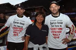 Sébastien Carron, Lucien Revaz, Ford Fiesta R5, Team Balbosca