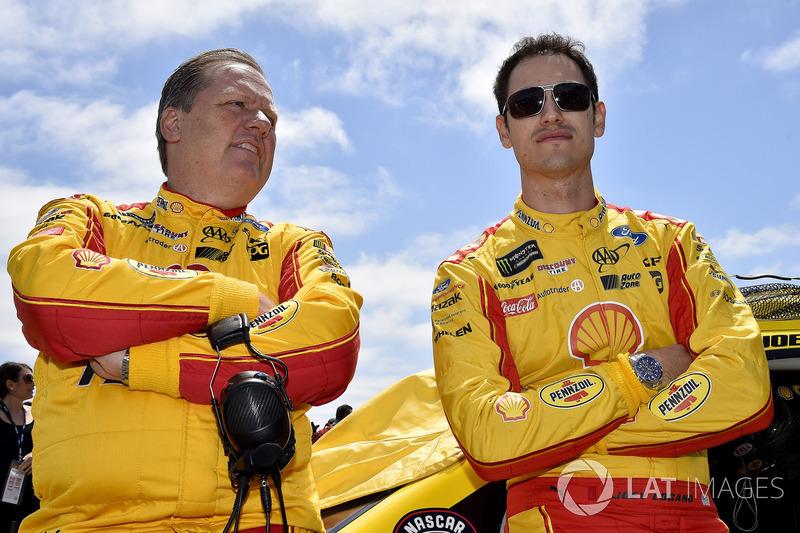 Todd Gordon, Joey Logano, Team Penske Ford