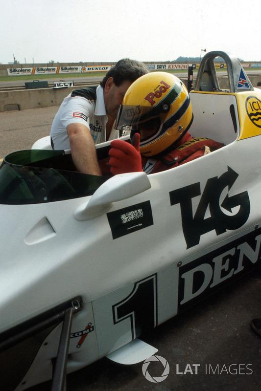 Айртон Сенна, командний менеджер Williams Аллан Челліс, Williams FW08C