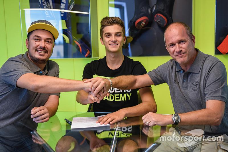 Luca Marini, Sky Racing Team VR46, Pablo Nieto, Sky Racing Team VR46 Team Manager