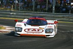 Yannick Dalmas, Hurley Haywood, Mauro Baldi, Dauer 962 Le Mans Porsche