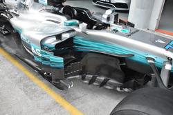 Mercedes AMG F1 W08 detial side