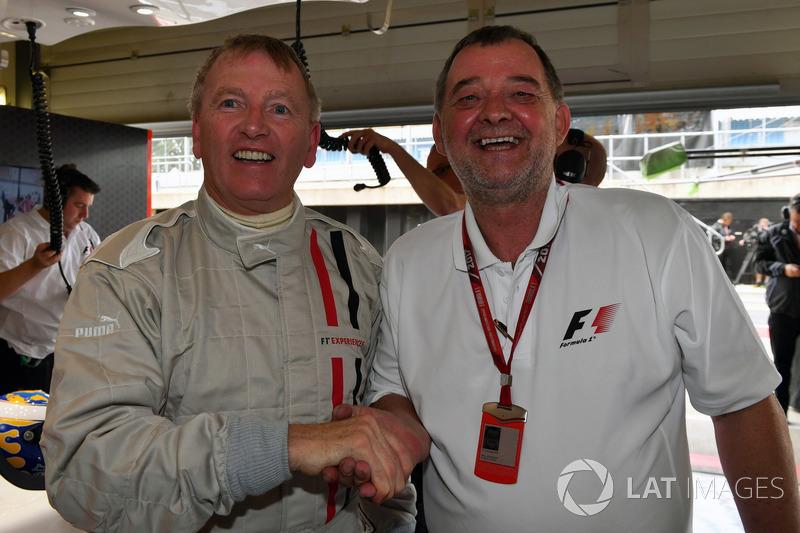 Paul Stoddart, F1-Doppelsitzer