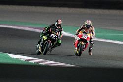 Johann Zarco, Monster Yamaha Tech 3; Dani Pedrosa, Repsol Honda Team