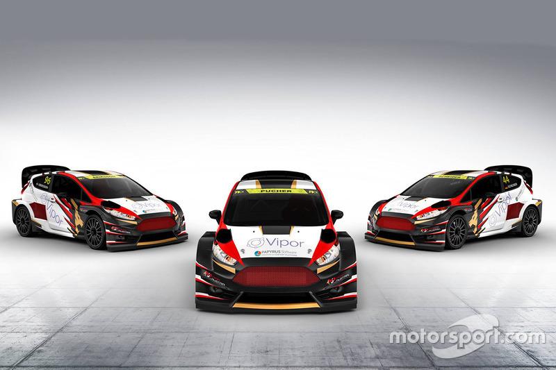 Les trois voitures de MJP Racing Team Austria