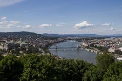 Une vue de Budapest