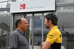 Frederic Vasseur, director del equipo Sauber