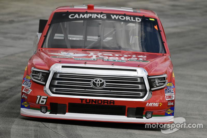 Ryan Truex, Hattori Racing Enterprises, Toyota