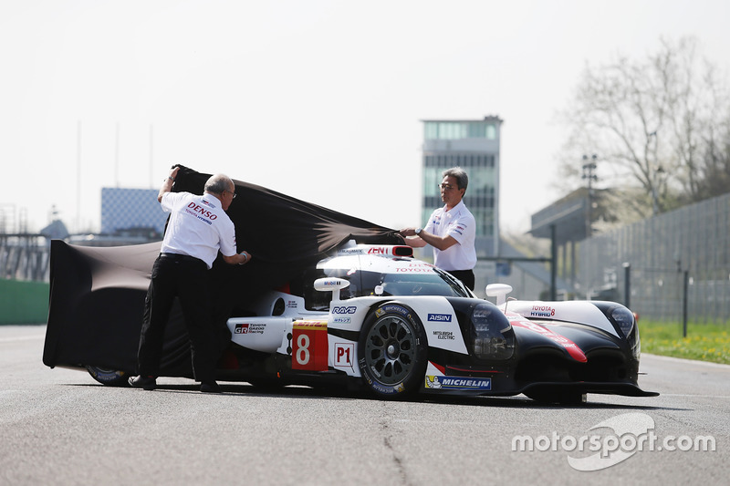 Toyota Gazoo Racing Toyota TS050 Hybrid, during the unveil