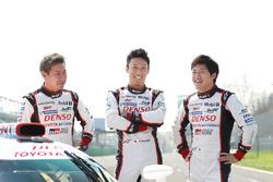 中嶋一貴、小林可夢偉、国本雄資(Kazuki Nakajima, Kamui Kobayashi, Yuji Kunimoto, Toyota Gazoo Racing)