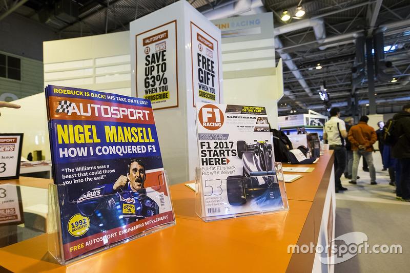 Autosport y F1 Racing, revistas