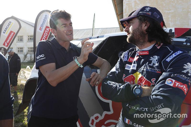 David Castera, Peugeot Sport with Marc Coma, Dakar sporting director
