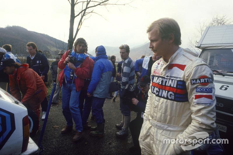 Juha Kankkunen, campeón del mundo del WRC en 1986, 1987, 1991 y 1993