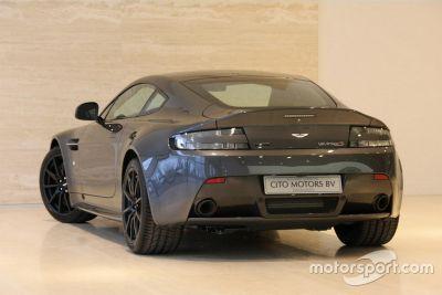 Max Verstappen Aston Martin V12 Vantage S on sale