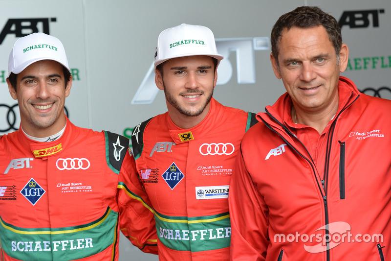 Lucas di Grassi, Daniel Abt, Jurgen Abt, ABT Schaeffler Audi Sport