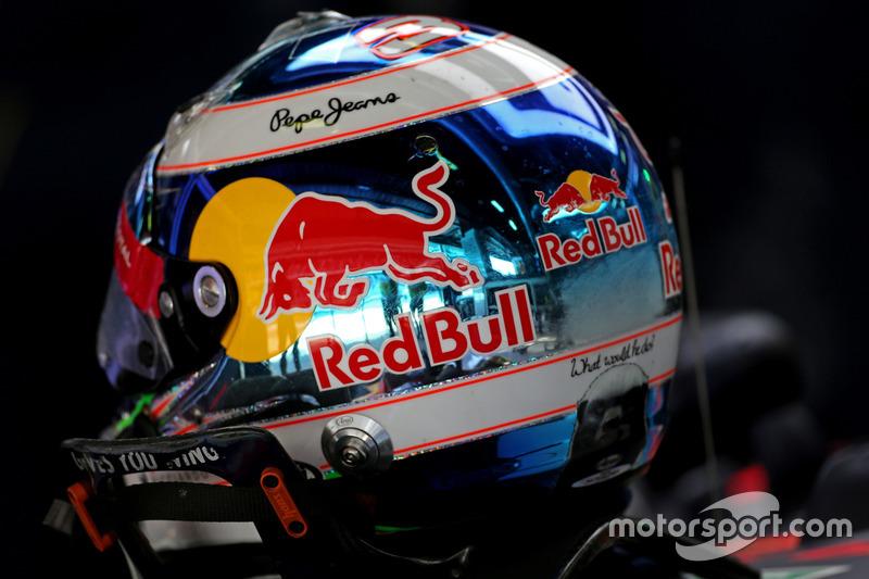 Helmet of Daniel Ricciardo, Red Bull Racing