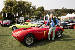 Andreas Mohringer und der Ferrari 375 MM Pininfarina Spyder von 1953